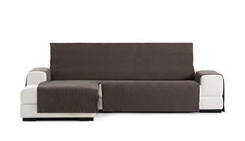 Eysa Funda chaisse Longue práctica Rabat Extra 290cm Color 07/Marrón, Izquierda Vista Frontal