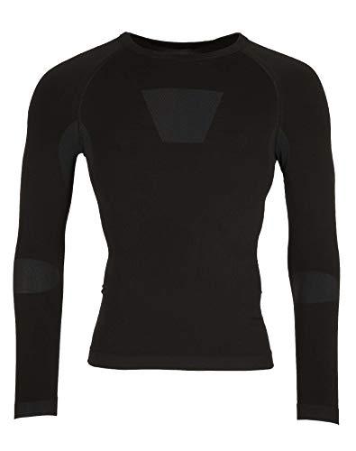 Ternua Enko Shirt Men Camiseta de Manga Larga, Hombre, Negro (Black), S