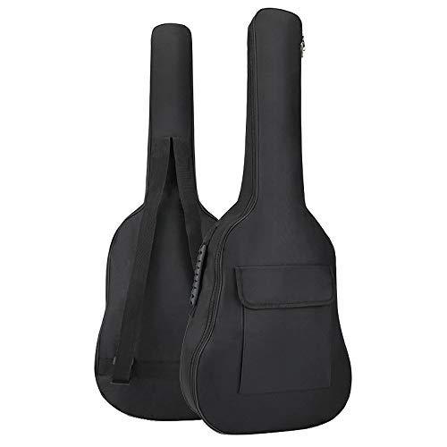 Origlam 36 Zoll Akustikgitarre Gigbag Wasserdicht Gitarrentasche Weiche Gitarre Rucksack Gepolstert Dual Schultergurt Weiche Tasche Cover Verstellbare Tasche für Akustik Konzertgitarre