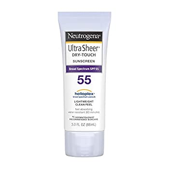 Neutrogena Ultra Sheer Dry-Touch Water Resistant and Non-Greasy Sunscreen Lotion with Broad Spectrum SPF 70 3 Fl Oz  Pack of 3