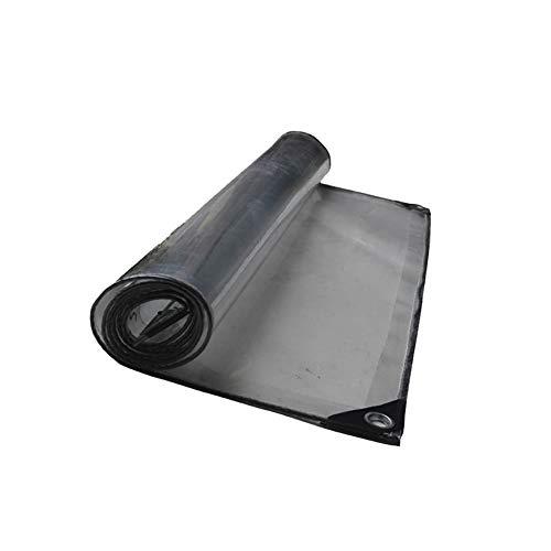 NEVY dekzeil, transparant, transparant dekzeil van polyester, waterdicht, bescherming tegen vorst en zon, transparant, voor tuin, kas 3.16X5.2M