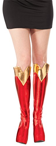 Rubie's Costume Co Women's DC Superheroes Boot-Tops, Supergirl
