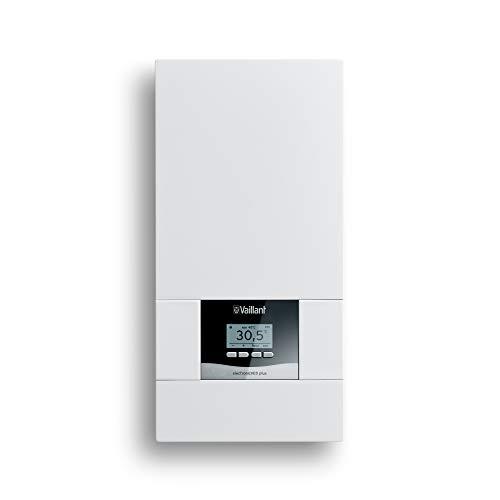 Vaillant elektronischer Durchlauferhitzer, VED plus 18/8, druckfest, 18kW, 400V, gradgenaue Auslauftemperatur, stufenlos einstellbar, Grafikdisplay, 0010023766