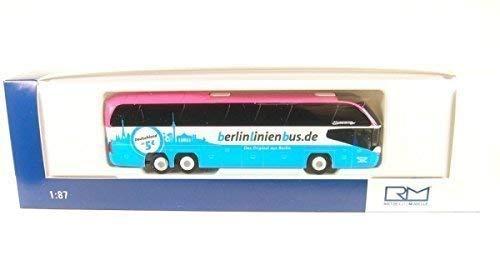 Neoplan Cityliner C, Hochstetter Touristik-BerlinLinienBus, 0, Modellauto, Fertigmodell, Rietze 1:87