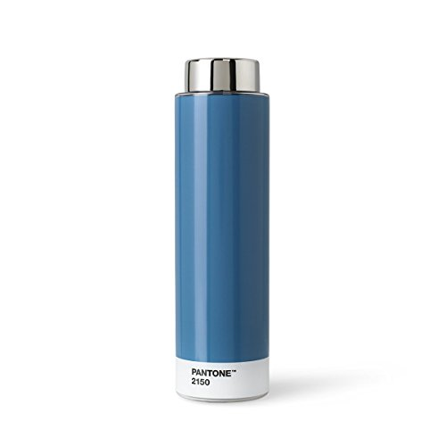 Copenhagen design Pantone Drinking, Tritan (Plastic) Water Bottle, 500 ml, Blue, 2150, One Size