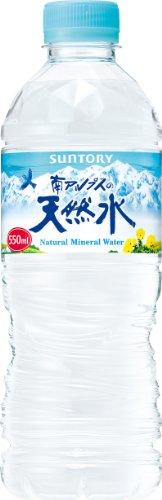 サントリー 天然水(南アルプス) 550ml×24本 PET