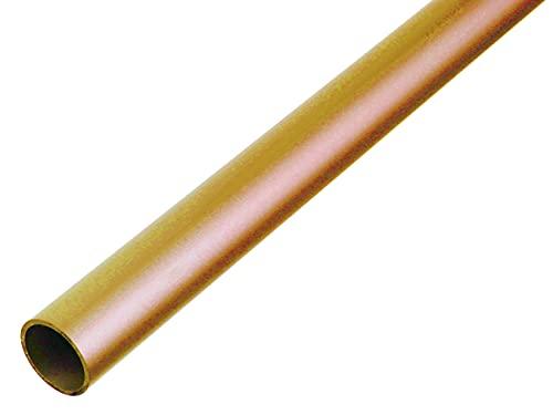 GAH-Alberts 471231 Rundrohr   Messing   1000 x 6 x 0,5 mm