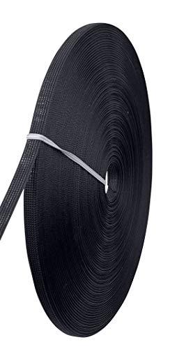 톈티아오 폴리에스터 본딩 본딩 25야드 | 롤 바느질 웨딩 드레스 코르셋 본딩 밴켓 드레스 퍼포먼스 의류(3 | 10인치 블랙)
