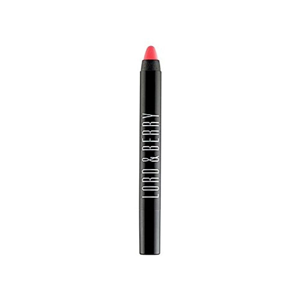 製造アフリカロック領主&ベリー20100マット口紅クレヨン x4 - Lord & Berry 20100 Matte Lipstick Crayon (Pack of 4) [並行輸入品]