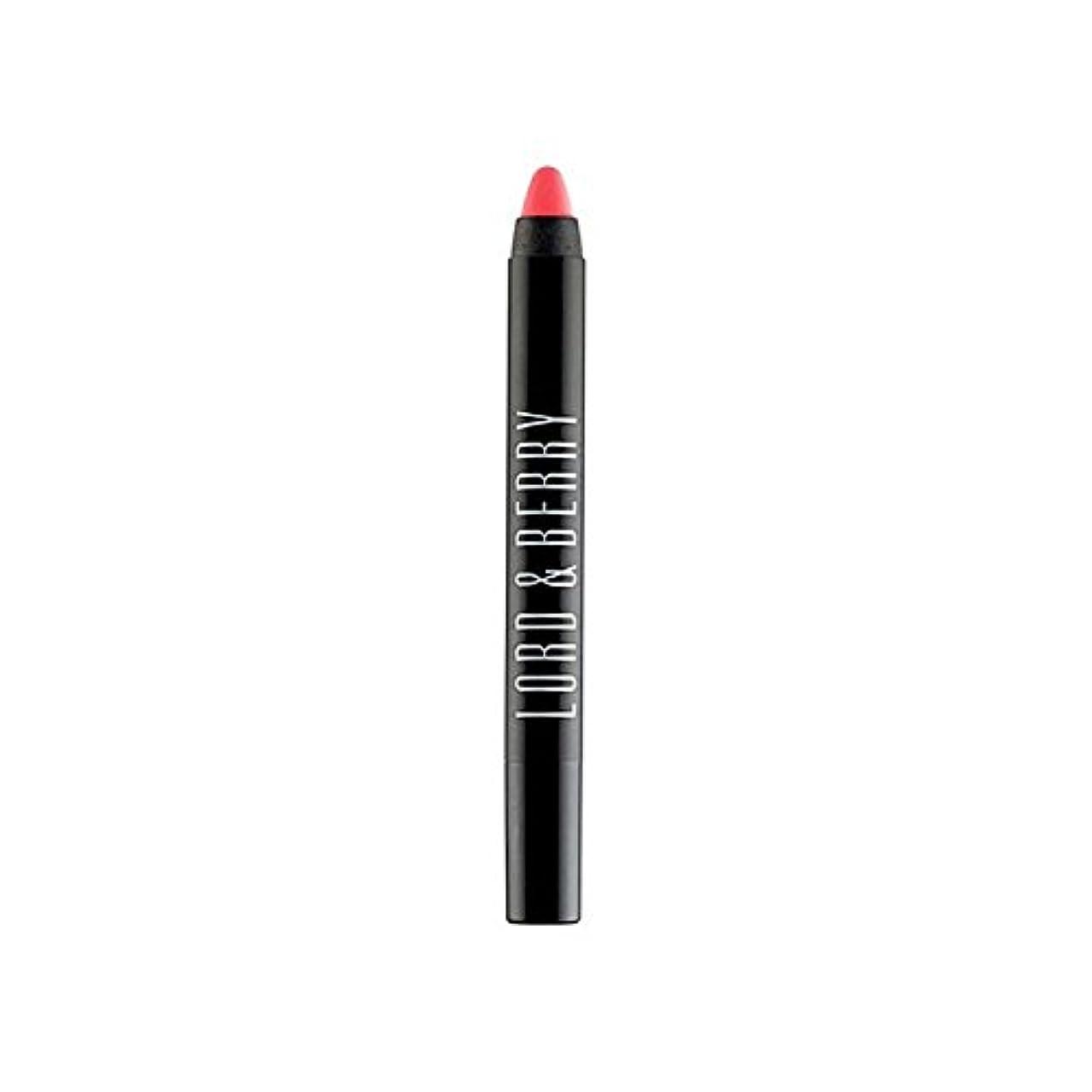 識字職人王子Lord & Berry 20100 Matte Lipstick Crayon (Pack of 6) - 領主&ベリー20100マット口紅クレヨン x6 [並行輸入品]