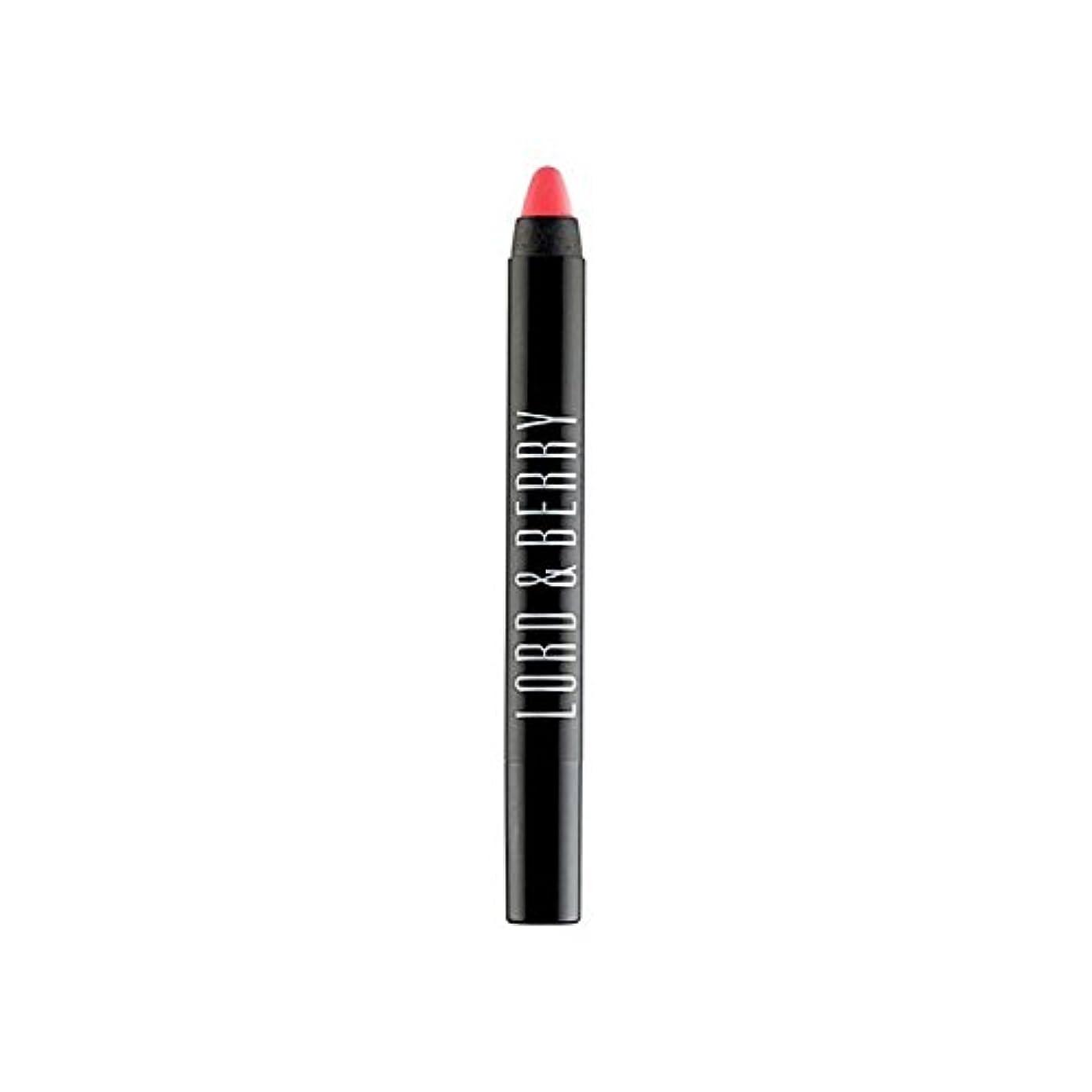 キャリアステレオ等々領主&ベリー20100マット口紅クレヨン x2 - Lord & Berry 20100 Matte Lipstick Crayon (Pack of 2) [並行輸入品]