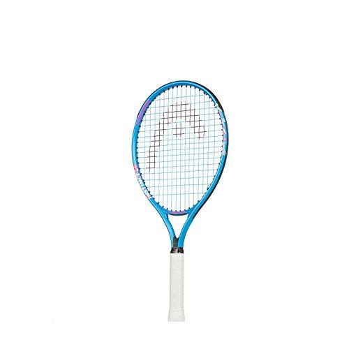 """HEAD Instinct Kids Tennis Racquet Beginners Pre-Strung Head Light Balance Jr Racket - 23"""", Light Blue/White (233830)"""