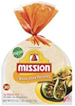 Mission, Corn Tortillas, 30 Count, 27.5oz Bag (Pack of 4)