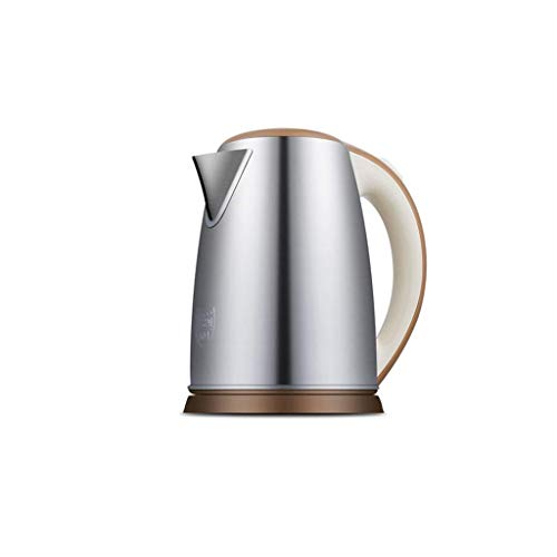 MMWYC - Hervidor de agua caliente de acero inoxidable, 1,8 litros, con apagado automático de 1850 W