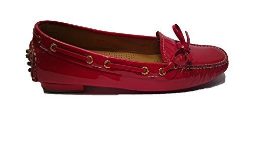 Car Shoe Pelle Vernice Rosso KDD10A (39 EU)