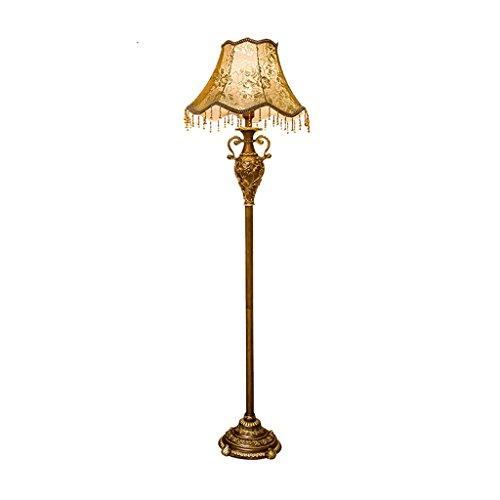 MEHE@ mode personnalité créatif Lampe de plancher de style européen salon chambre projet d'hôtel de luxe villa rétro lampe de chambre américaine lampadaire debout Lampadaires