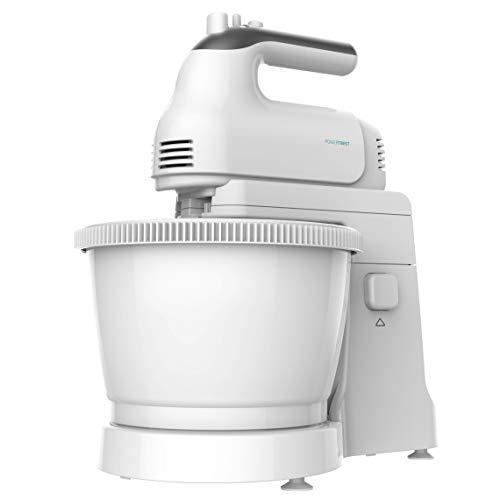 Cecotec PowerTwist 500 Gyro - Batidora de Pie, 500W, 3,5 L de Capacidad, 5 Niveles de Velocidad, Función Turbo y 3 Acce