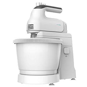 Cecotec PowerTwist 500 Gyro - Batidora de Pie, 500W, 3,5 L de Capacidad, 5 Niveles de Velocidad, Función Turbo y 3 Accesorios, Libre de BPA