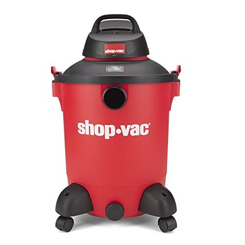 Shop-Vac 5989000 Wet/Dry Vacuum with SVX2 Motor Technology, 10 gal, Long Hose, 6.5 Horsepower, (1-Pack)