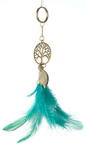 /â/€/¦ Rooh Dream Catcher ~ Neon Key Chain ~ Handmade Key Chain used as Purse or Bag Hanging orange House keys Goodluck Charm Cupboard Keychain Car DCKNEO