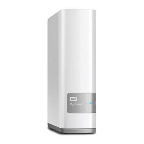 Western Digital My Cloud HDD Esterno, 3,50 Pollici, Gigabit Ethernet, USB 3.0, 2000 GB, Bianco