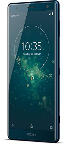 Sony Xperia XZ2 Smartphone (14,5 cm (5,7 Zoll) IPS Full HD+ Bildschirm, 64 GB interner Speicher & 4 GB RAM, Dual-SIM, IP68, Android 8.0) Deep Green - Deutsche Version