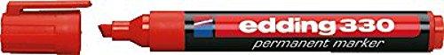 edding Permanentmarker 330/4-330002, rot