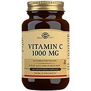Solgar Vitamin C 1000 Mg Vegetable Capsules, Pack of 100