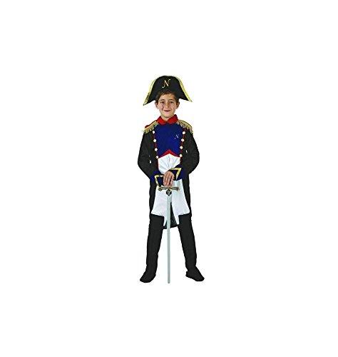 Atosa-70073 Disfraz Napoleón, color azul, 5 a 6 años (70073)