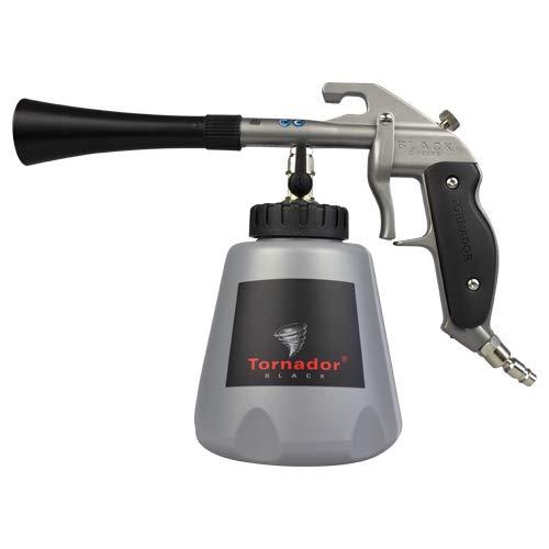Tornador 602420 - Pistola de Limpieza para Coche Z020 RS (z-020 RS) Limpia impurezas de plásticos, Goma, Vinilo, Alfombra y tapicería