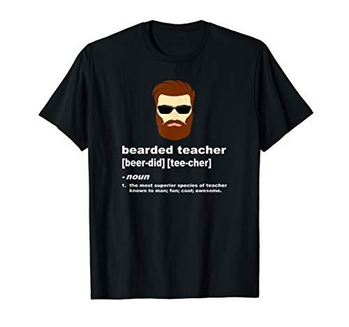 Funny Teacher Bearded Shirt