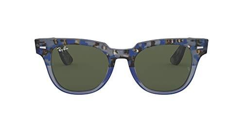 Ray-Ban Meteor Gafas, Gradiant Havana Blue (128831), 50 mm Unisex Adulto