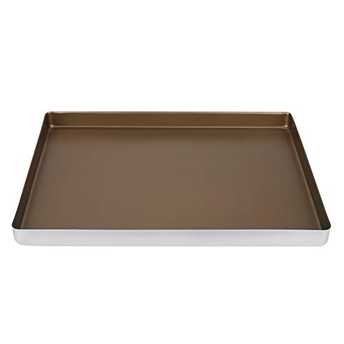 Baking Roasting Trays Aluminum Alloy Bakeware Cake Cookie Sheet 40 30 3cm Optimum Size Thickness for Home Ovens