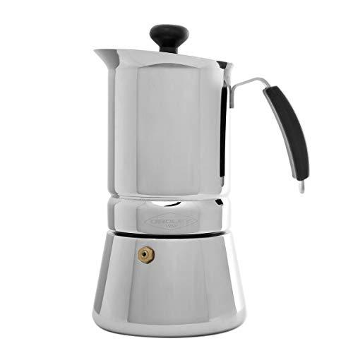Oroley 215080300 Cafetera para 10, Gris, 9 tazas