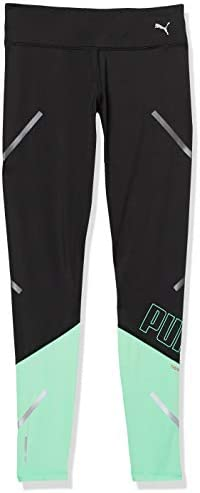 PUMA Women s Runner ID Thermo R 7 8 Tights Blackgreen Glimmer L product image