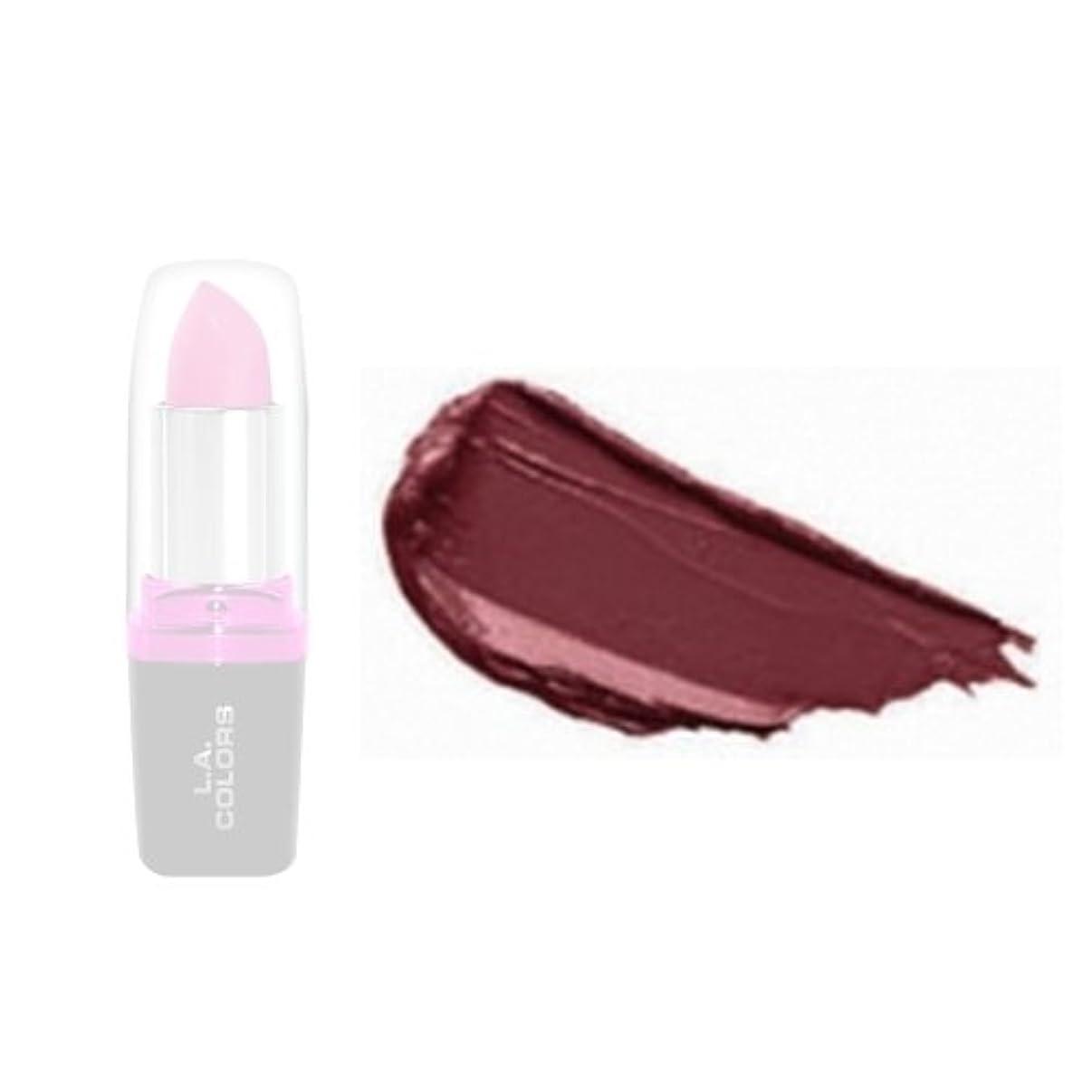 謎適用済み前奏曲LA Colors Hydrating Lipstick - Bordeaux (並行輸入品)
