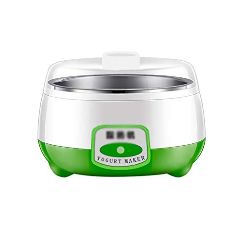 ZNBJJWCP Electrodomésticos para el hogar Máquina automática de Yogurt de Acero Inoxidable fermentado, Fabricante de Yogurt, Fabricante de Yogur, electrodoméstico.