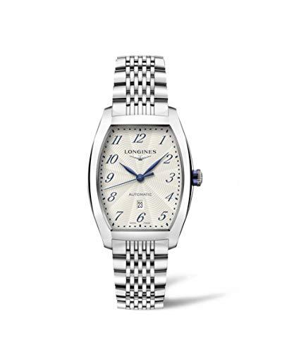 Longines Evidenza L23424736 - Reloj automático para mujer con esfera plateada