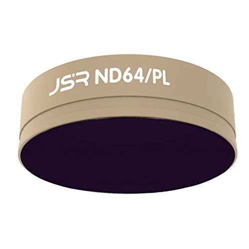 Perfeclan ND64 / PL Filtro per Obiettivo Multistrato per Fotocamera per Sport All'aria Aperta per DJI ACTION LG