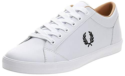 Fred Perry Baseline Leather B6158100, Scarpe Sportive - 41 EU