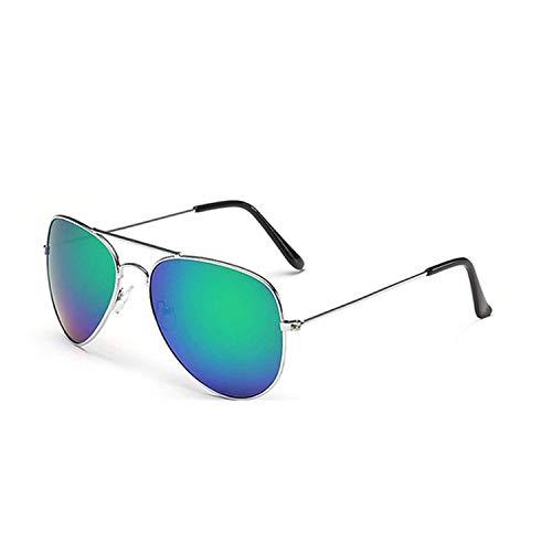 WERERT Gafas de Sol Deportivas,Pilot Mirror Sunglasses Women/Men Sun Glasses Women Vintage Outdoor Driving
