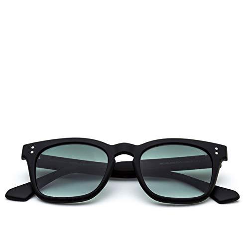 SARAGHINA, Gafas de Sol Michelangelo Black Shaded Lens Verde, SAR_MICHELANGELO-115MGR - DA SOLE