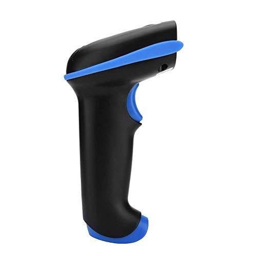 MYXMY Bluetooth-Barcode-Scanner, Arbeitszeit ca, automatisches schnelles und präzises Scannen, USB-Langstrecken-Laser-Scan-Code-Pistole