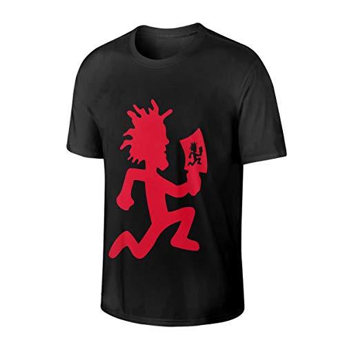 PaulLMorefields Insane Clown Posse ICP Soft Mens Cotton Short Sleeve T Shirts 5XL Black