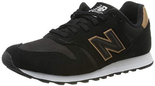 New Balance Herren 373 Sneaker, Schwarz (Black), 43 EU (9 UK)