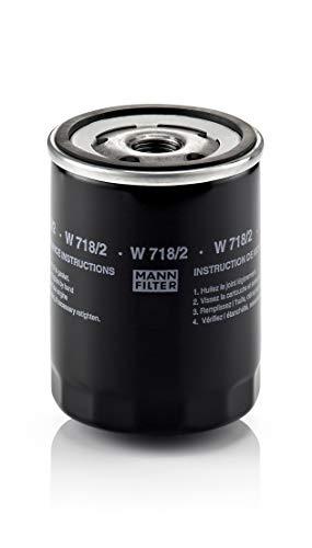 Original MANN-FILTER W 718/2 - Schmierölwechselfilter - für PKW