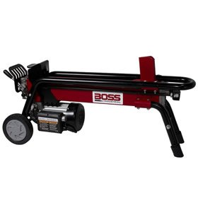 Boss Industrial Es7T20-CW 7 Ton Electric Log Splitter, Red