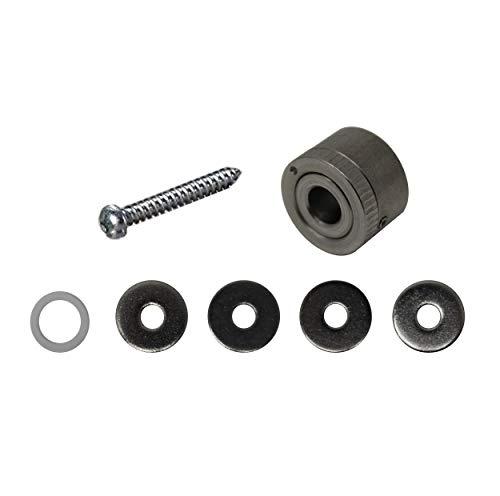 Scheffinger EM3plus Zweihandschloss silber, Zusatzsicherung zum Einbruchschutz EM3 Riegel, hochwertiger Stahl