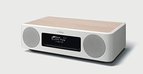 ヤマハ TSX-B237(MN) デスクトップオーディオ CD/USB/FMラジオ/Bluetooth/Qi対応 レトロモダンなデザイン ナチュラル