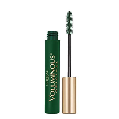 L'Oreal Paris Makeup Voluminous Original Washable Bold Eye Mascara, Deep Green, 0.27 Fl Oz